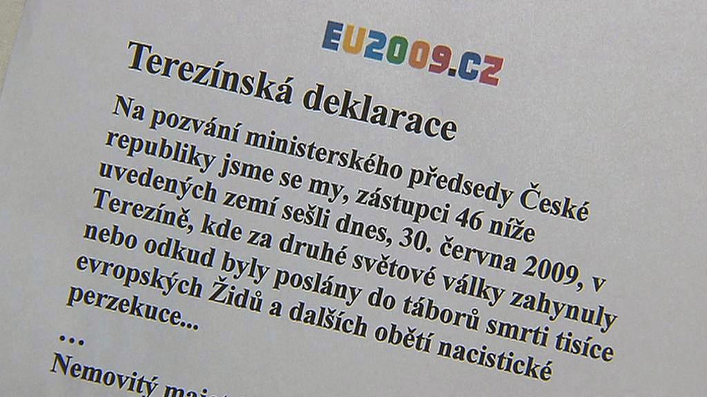 Terezínská deklarace