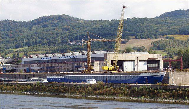 České loděnice v Děčíně