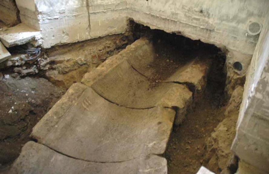 Klementinum / archeologické nálezy