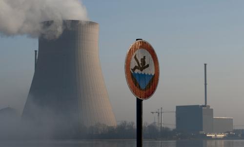 Německá jaderná elektrárna