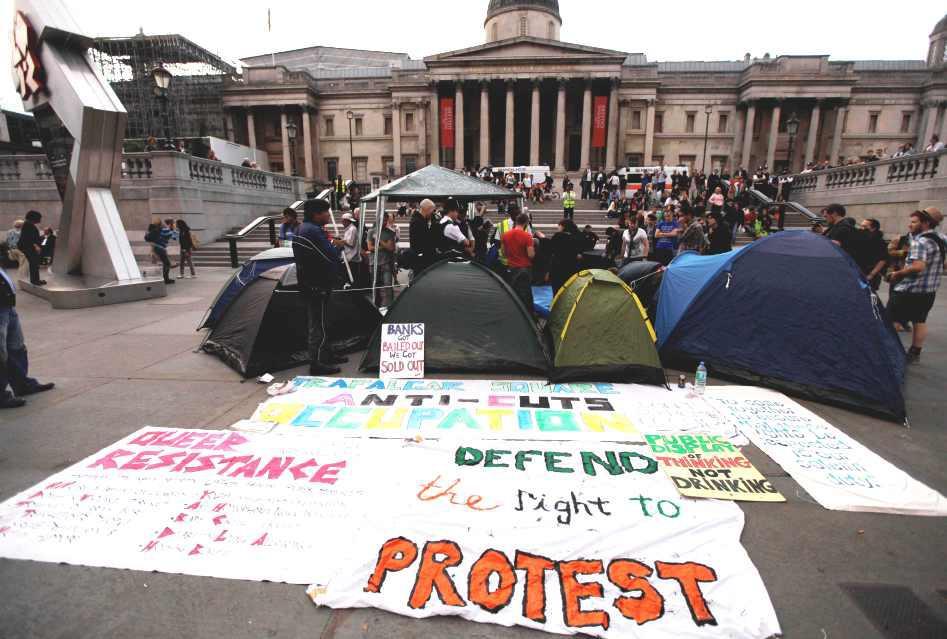 Stávka v Londýně