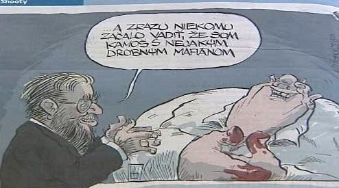 Karikatura Štefana Harabina