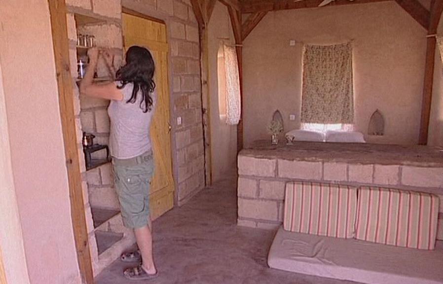 Interiér ekologického domu
