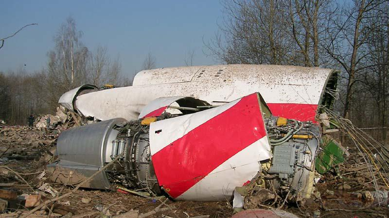 Nehoda polského letadla ve Smolensku