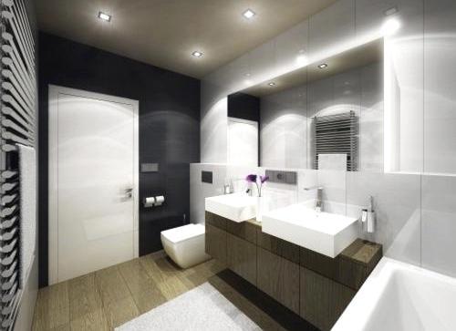 Koupelna v novostavbě