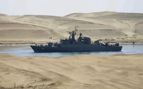 Íránská hlídková fregata