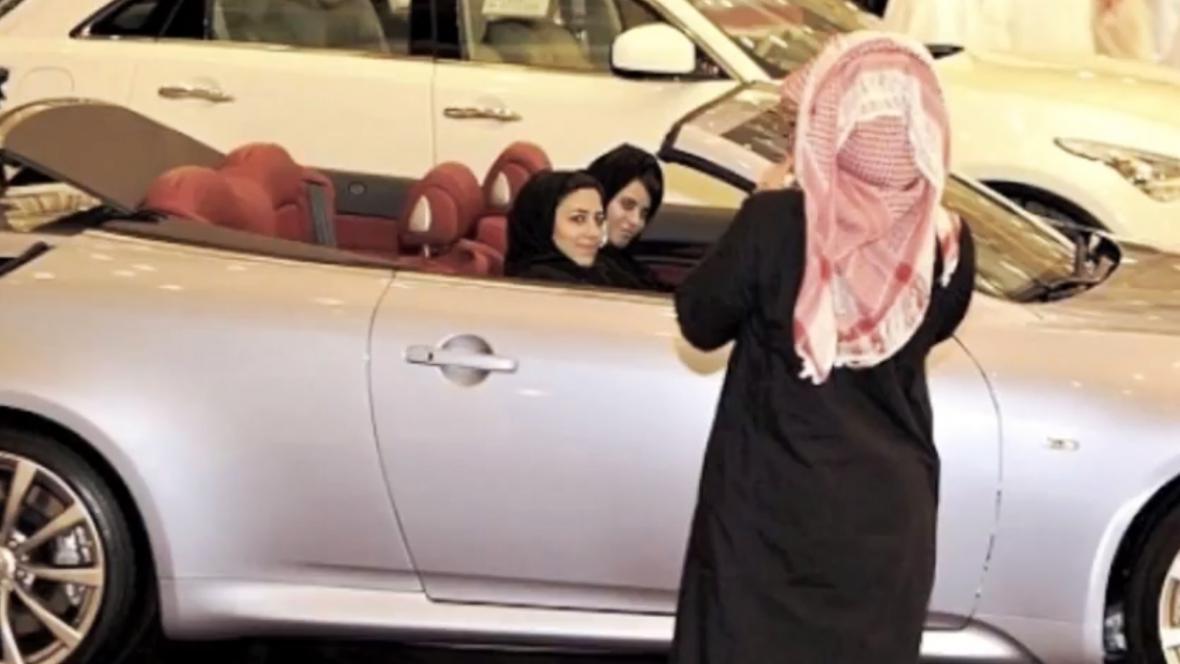 Saúdské Arabky za volantem