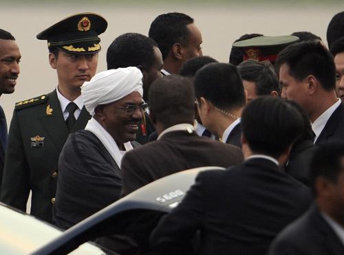 Umar Bašír v Číně