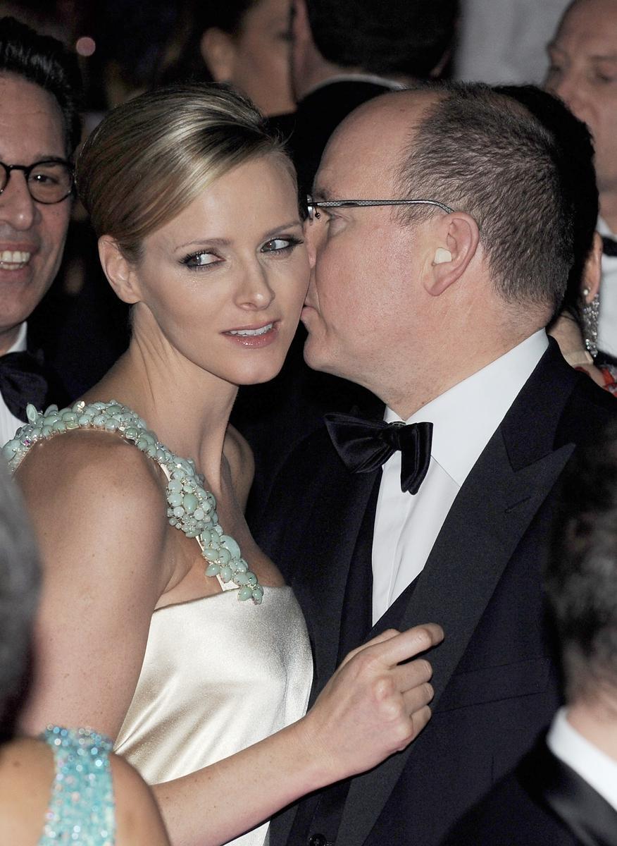 Charlene Wittstocková a kníže Albert II.