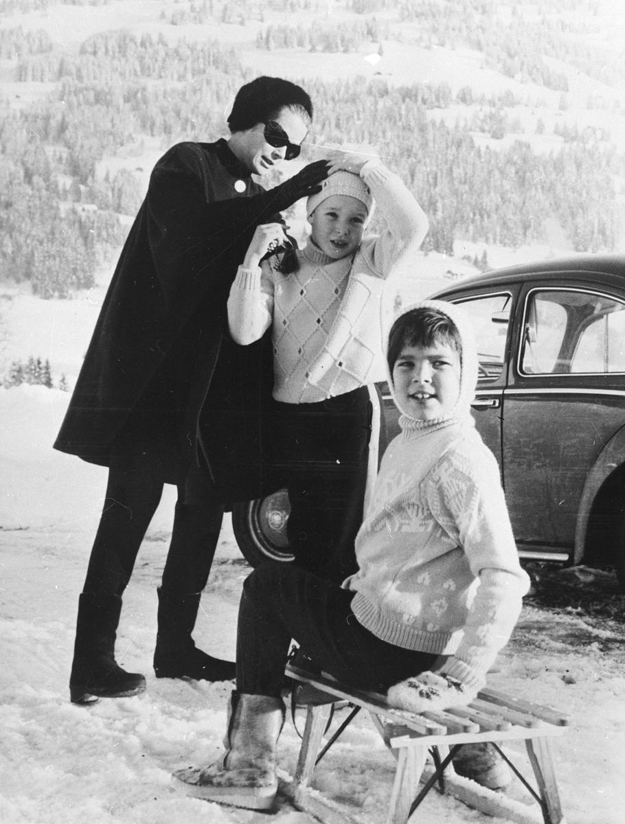 Princova láska k zimním sportům se projevila už v dětství
