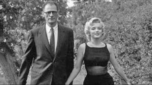 Arthur Miller a Marilyn Monroe
