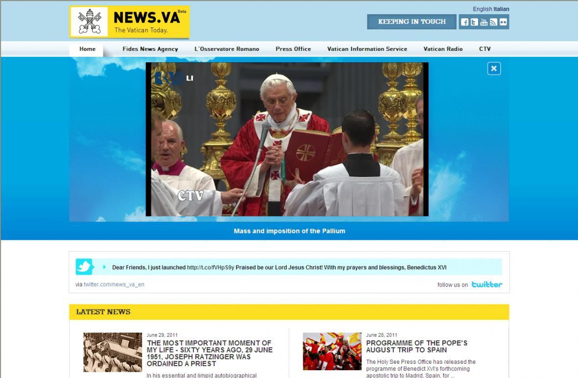 Vatikánský web news.va
