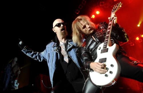 Judas Priest / Rob Halford a Richie Faulkner
