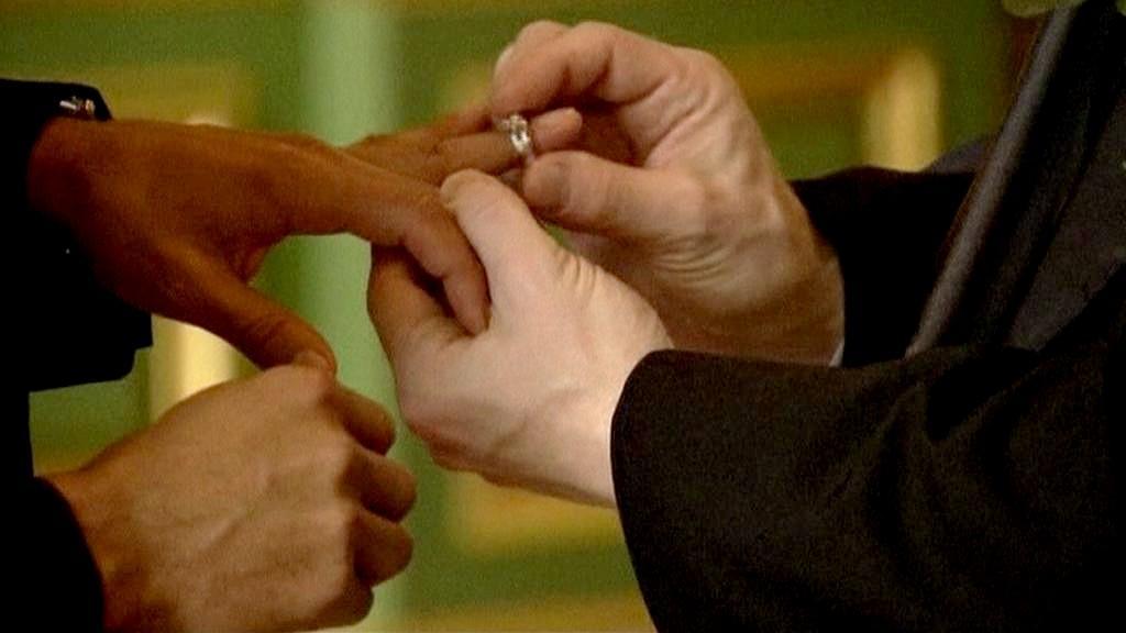 Homosexuální sňatek