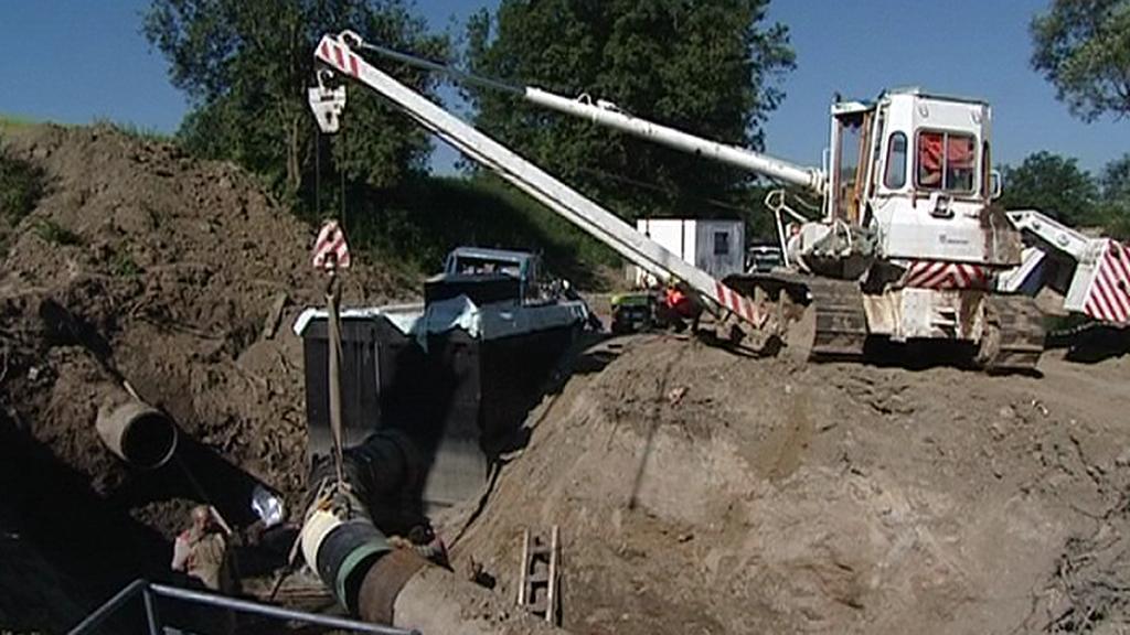 Přepojování vodovodního potrubí