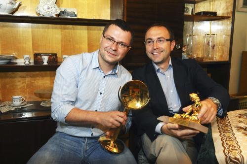 Filip Bobiňski (vpravo) a Petr Šizling
