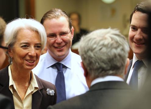 Setkání evropských ministrů financí