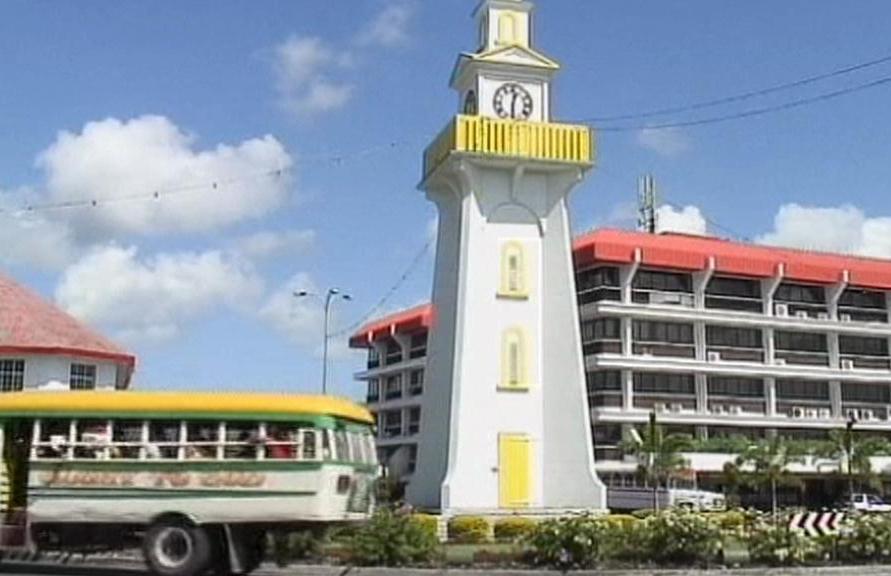 Veřejné hodiny v Samoi