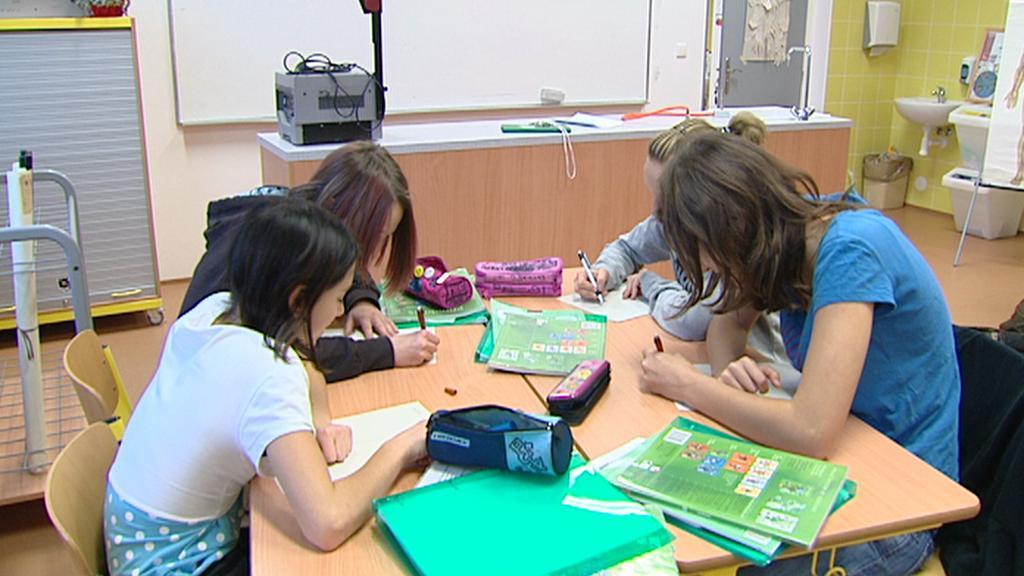 Dívky ve škole