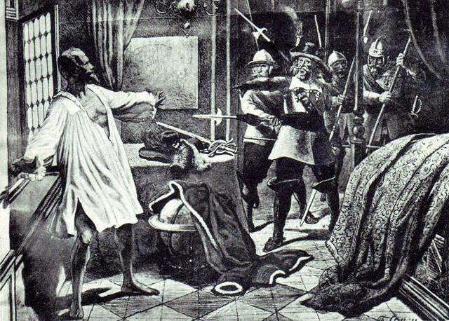 Zavraždění Albrechta z Valdštejna