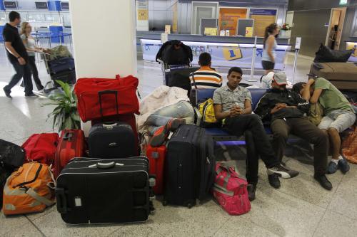 Stávka na aténském letišti