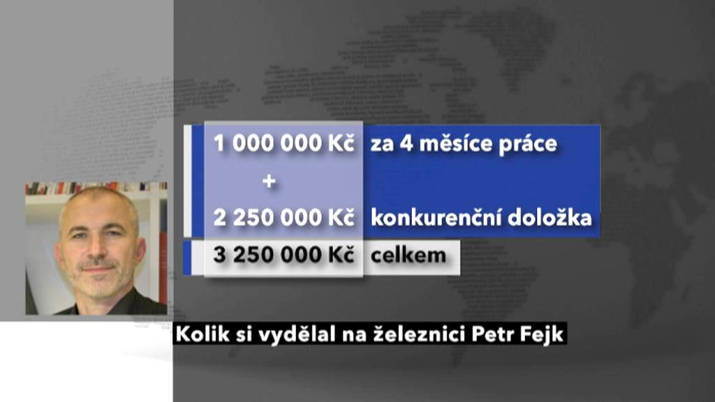 Příjem Petra Fejka ve funkci ombudsmana ČD