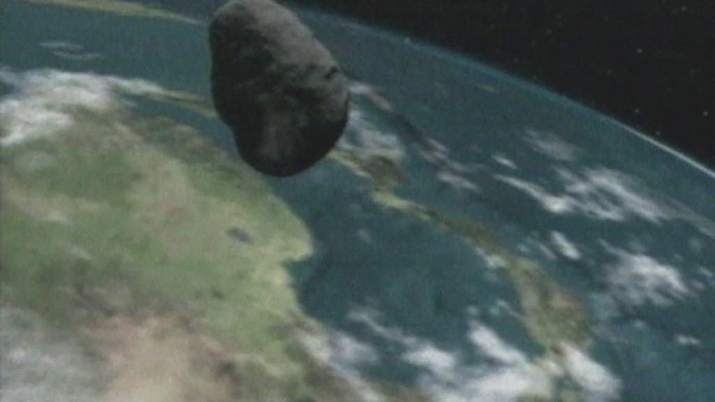 K Zemi se blíží asteroid
