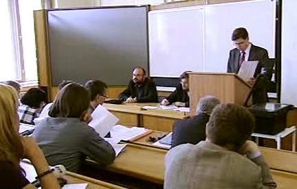 Učebna na univerzitě v Plzni