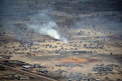 Boje v súdánské oblasti Abyei