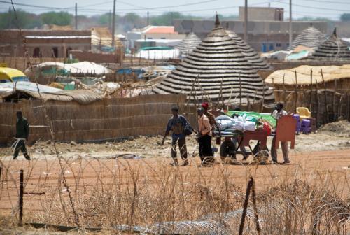 Uprchlíci ze súdánské oblasti Abyei