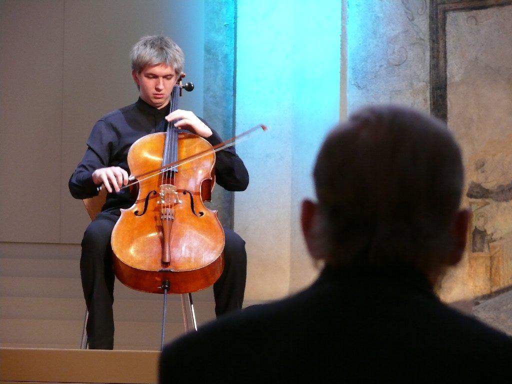 Violoncellista Tomáš Jamník
