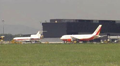 Letadla s ruskými a americkými špiony ve Vídni