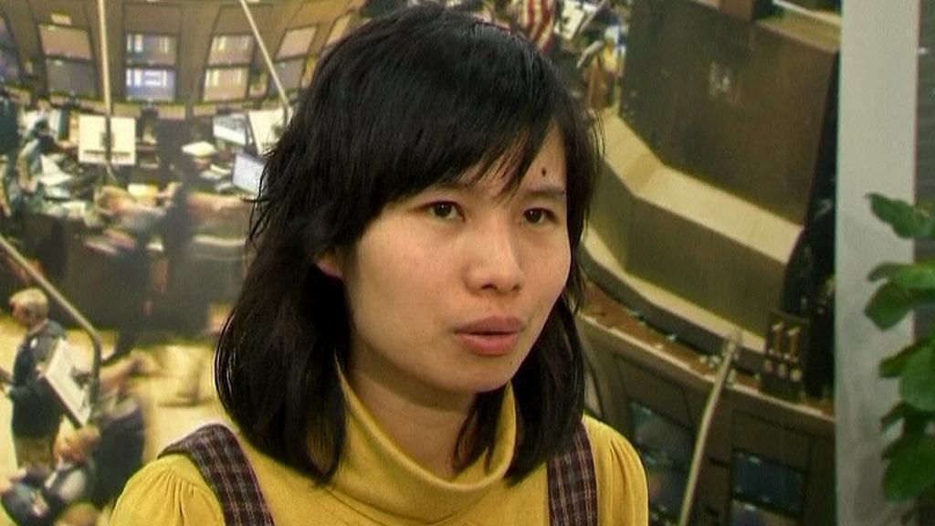 Manželka disidenta Chu Ťia