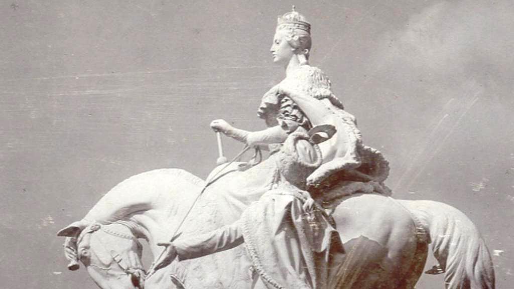 Socha Marie Terezie