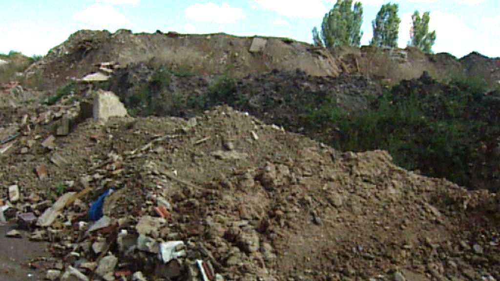 Skládka zeminy v Lahovičkách