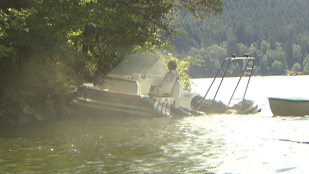 Cvičení vodních záchranářů