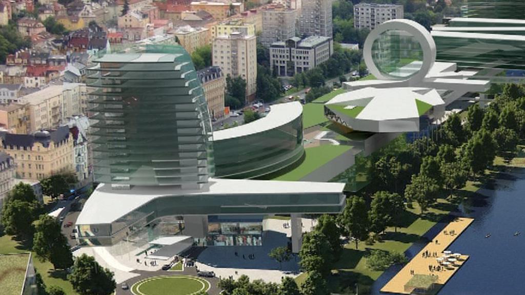 Model nákupního centra