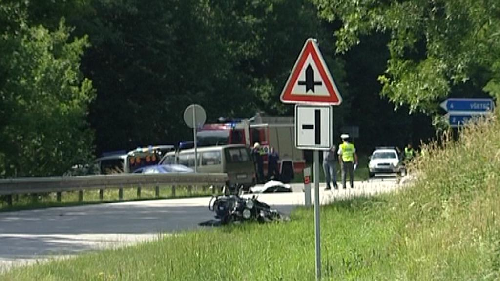 Nehoda u Neznašova na Českobudějovicku