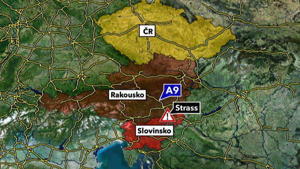 Nehoda autobusu ve Štýrsku