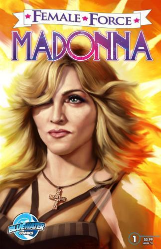 Komiks o životě Madonny