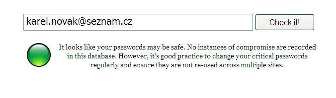 Bezpečný e-mailový účet
