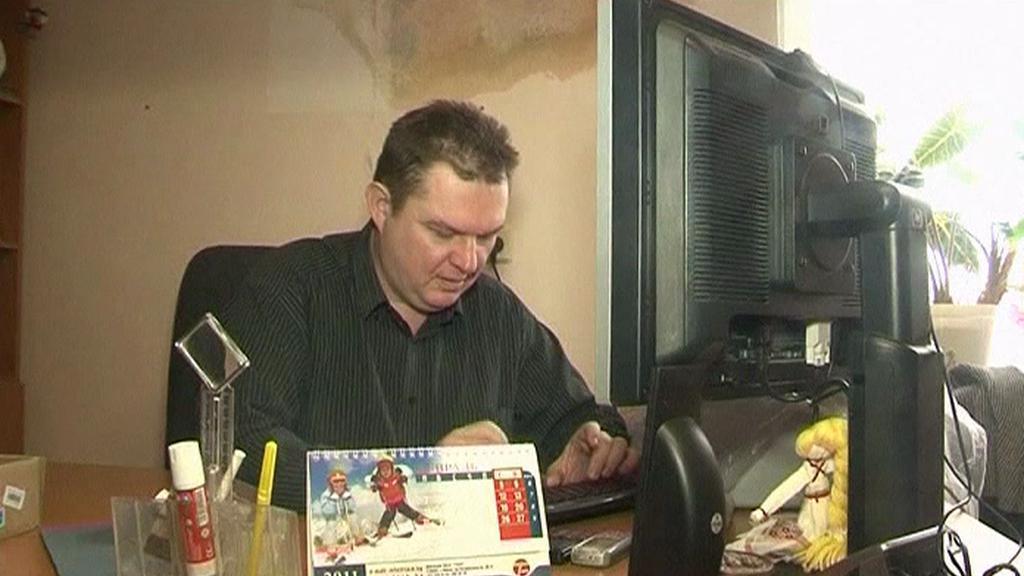 Běloruský novinář Andrzej Poczobut
