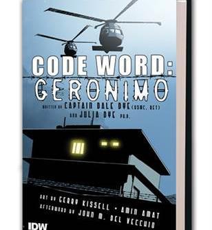 Komiks Code Word: Geronimo