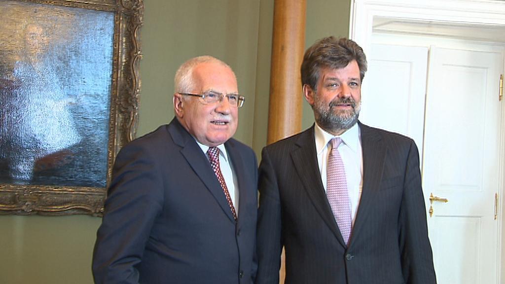Václav Klaus a Jan Kubice