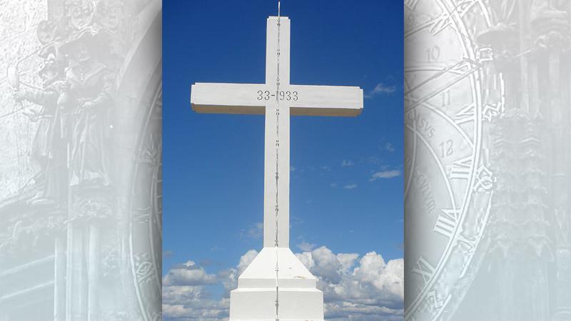 Kříž na hoře Križevac