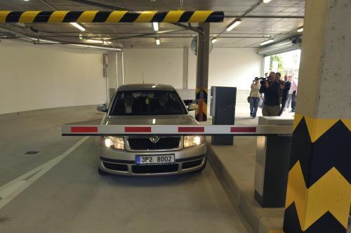 Parkovací dům Rytářka v Plzni