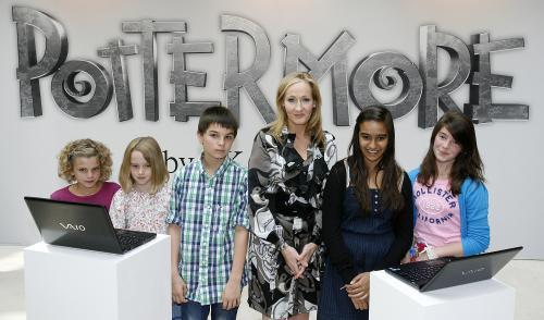Pottermore J. K. Rowlingové