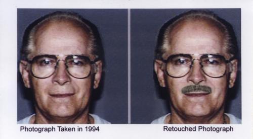 Fotografie Jamese Bulgera zveřejněná americkou FBI