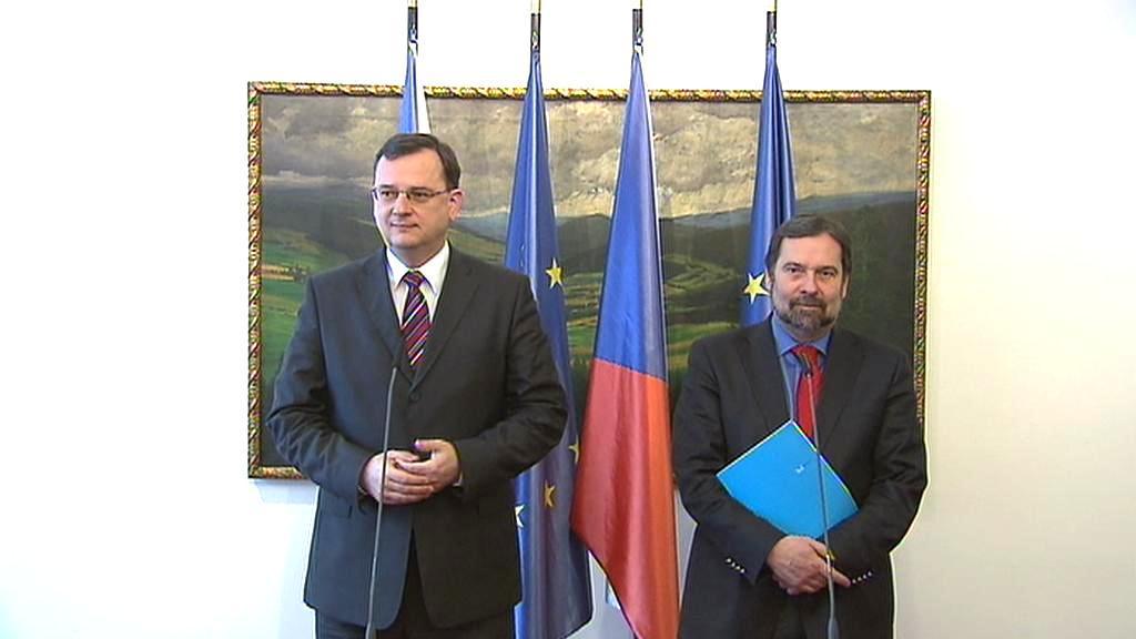 Petr Nečas a Radek John
