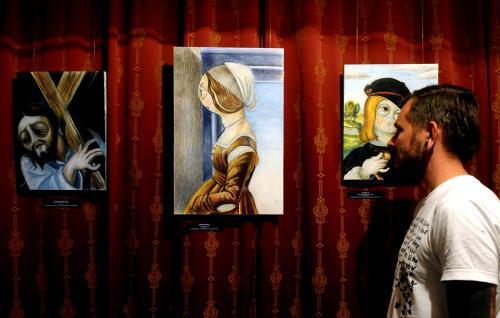 Výstava Fabia Mora